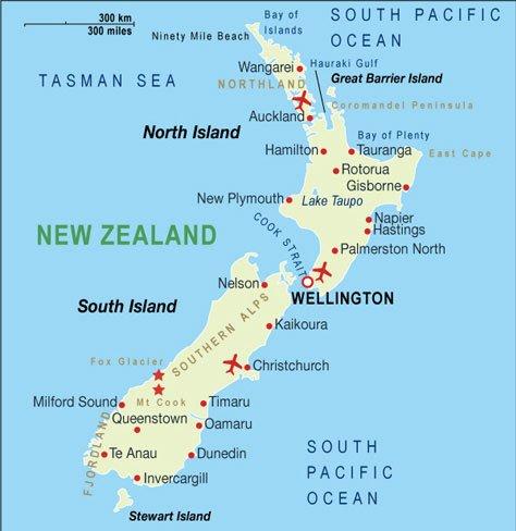 Circuit 2020 Noua Zeelanda Splendorile Noii Zeelande Alltur