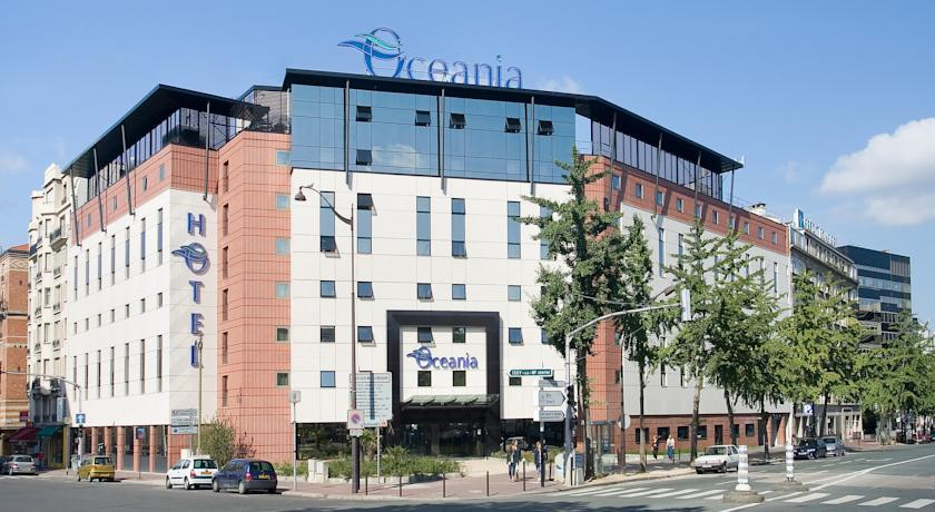 Cazare paris hotel oceania paris porte de versailles 4 alltur - Consulat du maroc porte de versailles ...